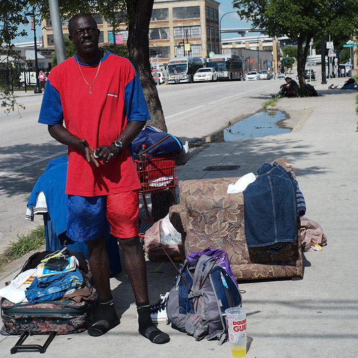 Homeless in Fort Worth/Texas